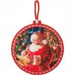 """Подставка под горячее """"Дед Мороз"""""""