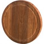 Доска разделочная деревянная круглая (бук)