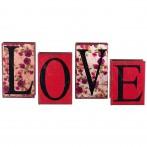 """Набор из 4-х шкатулок-книг """"Love"""""""