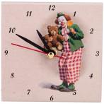 """Часы """"Клоун с мишкой"""""""