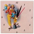 "Часы ""Клоун с шариками"""