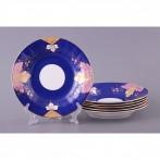 Набор тарелок из 6 шт.диаметр=21 см. (кор=6наб.)