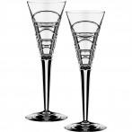 Набор бокалов для шампанского из 2 шт.200 мл.