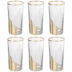 Набор стаканов из 6 шт. 350 мл. высота=14 см.